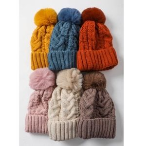 KATIE knit Beanie - RUST